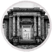 The Free Library Of Philadelphia - Manayunk Branch Round Beach Towel