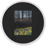 The Gardens At Biltmore Estate IIi Round Beach Towel