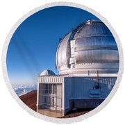 The Gemini Observatory Round Beach Towel