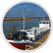 The George Campbell  Round Beach Towel