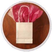 The Gift Round Beach Towel