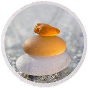 The Golden Egg Round Beach Towel