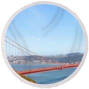 The Golden Gate Round Beach Towel
