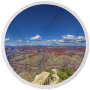 The Grand Canyon--another Look Round Beach Towel
