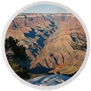 The Grand Canyon Round Beach Towel