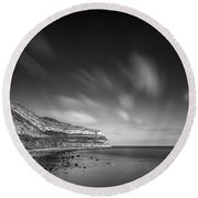 The Great Orme Round Beach Towel by Dave Bowman