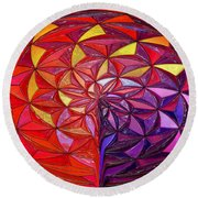 The Great Sphere Round Beach Towel