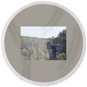 The Great Stone Door Grundy County Tennessee Round Beach Towel