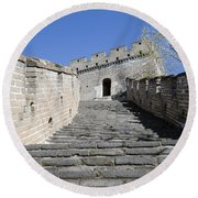 The Great Wall 721 Round Beach Towel