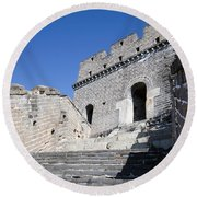 The Great Wall 724 Round Beach Towel