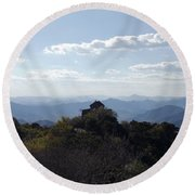 The Great Wall 855 Round Beach Towel