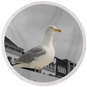 The Gull Round Beach Towel
