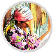 The Gypsy Round Beach Towel