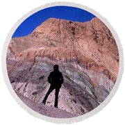 The Hill Of Seven Colours Jujuy Argentina Round Beach Towel