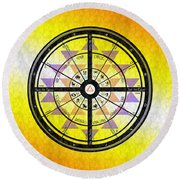 The Holy Science Round Beach Towel