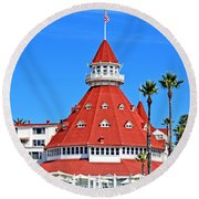 The Hotel Of Hotels Round Beach Towel