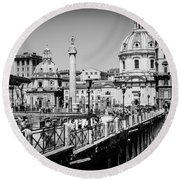 The Imperial Fora Round Beach Towel
