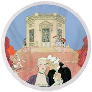 The Indolents Round Beach Towel