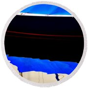 The Inner Side Of Surface - Limited Edition  Round Beach Towel