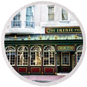 The Irish Pub - Philadelphia Round Beach Towel
