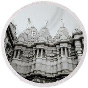 The Jain Towers Round Beach Towel