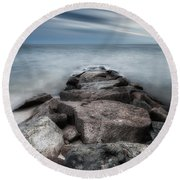 The Jetty Square Round Beach Towel