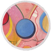 The Joy Of Design X V I I Part 2 Round Beach Towel