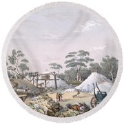The Kapunda Copper Mine, From South Round Beach Towel