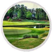 The Landing At Reynolds Plantation Round Beach Towel