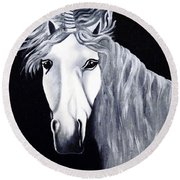 The Last Unicorn Round Beach Towel