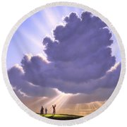 The Legend Of Bagger Vance Round Beach Towel
