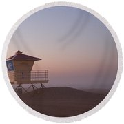 The Lifeguard Shack Round Beach Towel