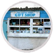 The Lizard Point Gift Shop  Round Beach Towel