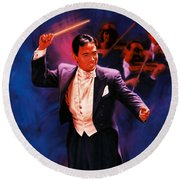 The Maestro Round Beach Towel