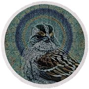 The Majesty Of Lil Things 1 Wd Round Beach Towel