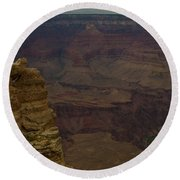 The Many Colors Of The Grand Canyon Round Beach Towel
