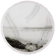 The Mekong River Round Beach Towel