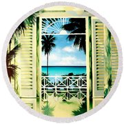 The Messel Suite Round Beach Towel