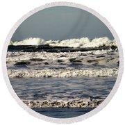 The Mighty Pacific II Round Beach Towel