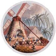 The Millyard, From Ten Views Round Beach Towel by William Clark