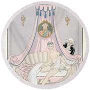 The Morning Painting By Georges Barbier