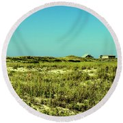 The Nesting Grounds  Round Beach Towel
