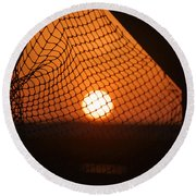 The Netted Sun Round Beach Towel