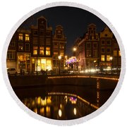 The Nine Streets Amsterdam Round Beach Towel
