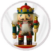 The Nutcracker Round Beach Towel
