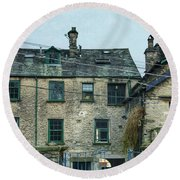 The Old Brewery Kendal Round Beach Towel