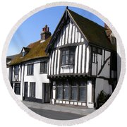 The Old Court Hall Hastings Round Beach Towel