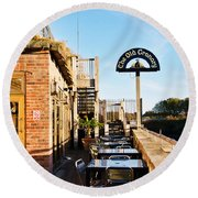 The Old Granary At Wareham Round Beach Towel