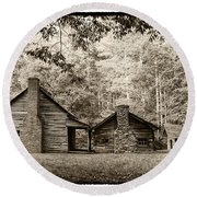 The Old Whitehead Place E211 Round Beach Towel