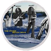 The Other Beach Boys Round Beach Towel